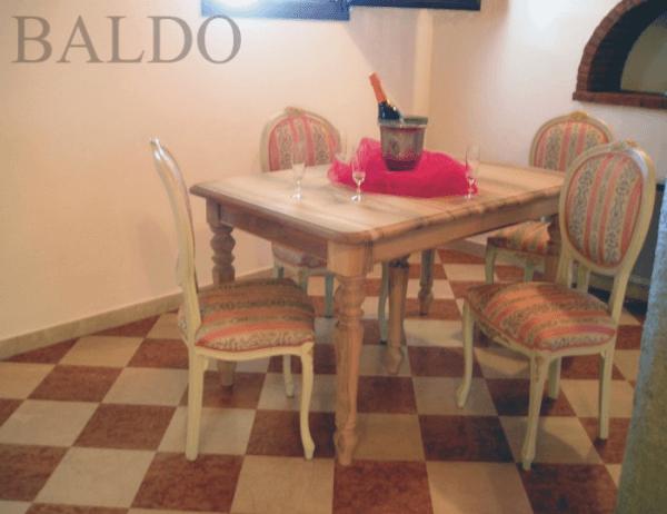 Tavolo Rettangolare classico