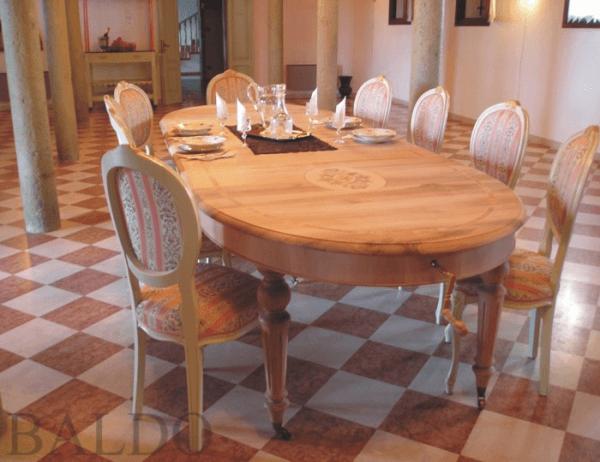 English Oval Table